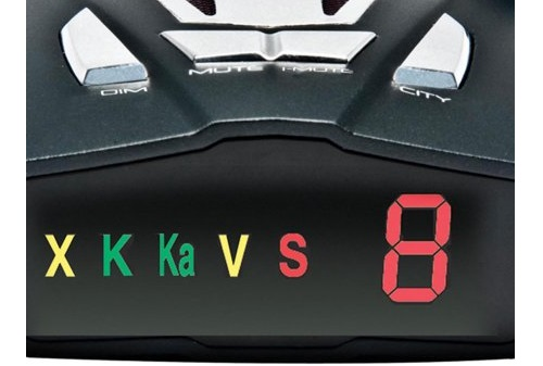 Cobra XRS9370 High-Performance Radar/Laser Detector Display
