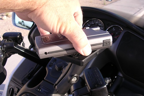 Putting Radar Detector On Motorcycle