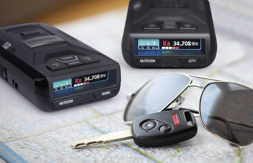 Radar Detectors On Road Map
