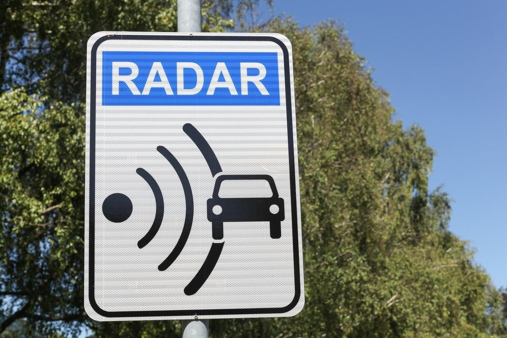 california radar detector law
